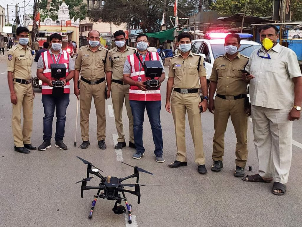 Drones used by police