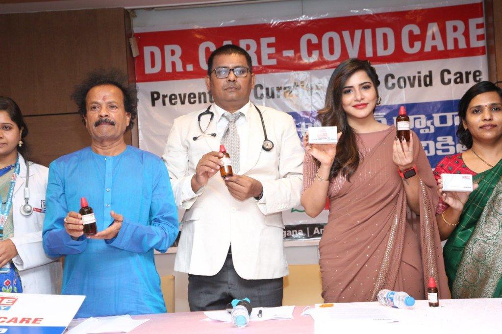 Dr care, covid care,  ashu reddy